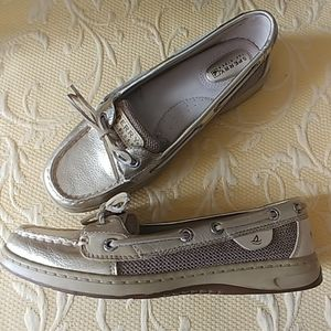 Shoes - Sperry Angelfish Boat Shoe Leather 7.5